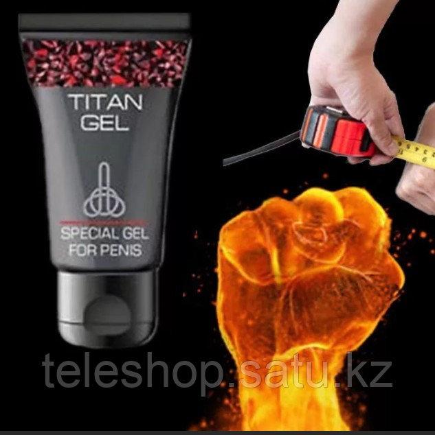 Titan Gel Tantra Гель для быстрого увеличения члена - 50 мл. Титан гель Тантра