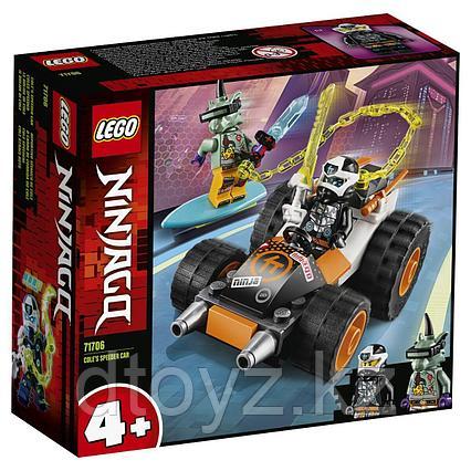 Lego Ninjago Скоростной автомобиль Коула 71706