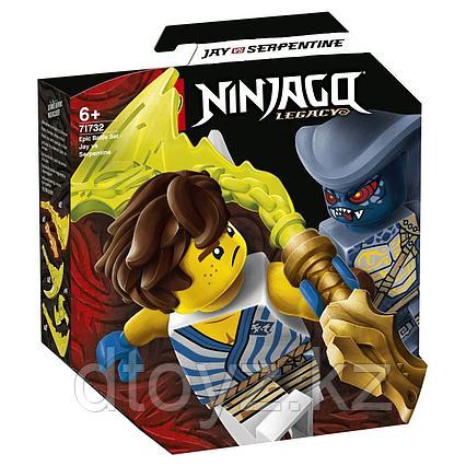Lego Ninjago Легендарные битвы: Джей против воина-серпентина 71732