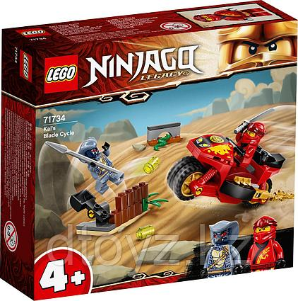 Lego Ninjago Мотоцикл Кая 71734