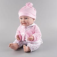 Пупс в розовой шапочке Kaifan Toys