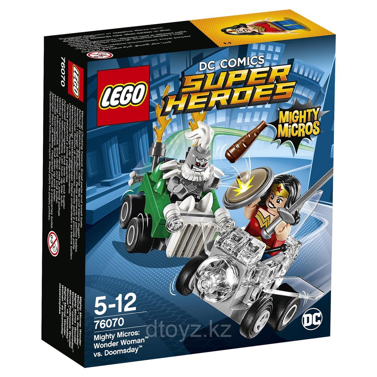 Lego DC Comics Super Heroes Чудо-женщина против Думсдэя (76070)