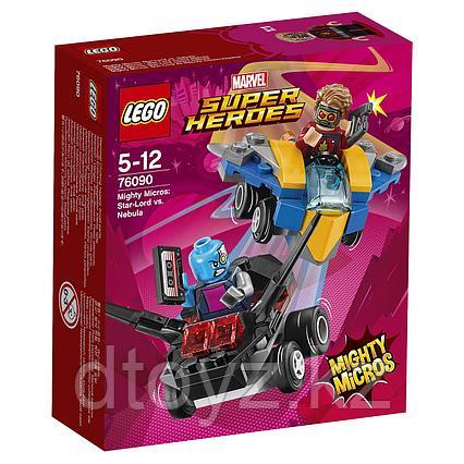 Lego 76164 Marvel Super Heroes Звёздный Лорд против Небулы 76090