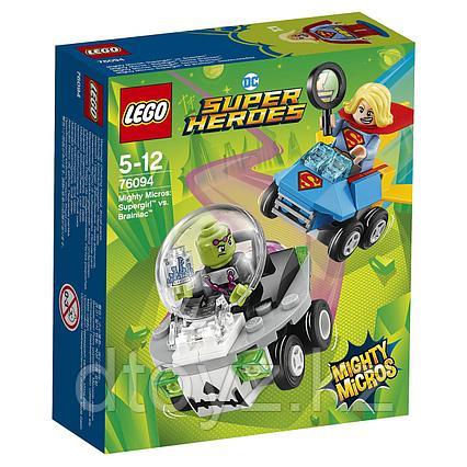Lego DC Comics Super Heroes Супергёрл против Брейниака 76094
