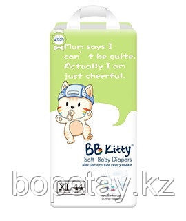 Подгузники BB Kitty XL 44 штуки (12-17кг)