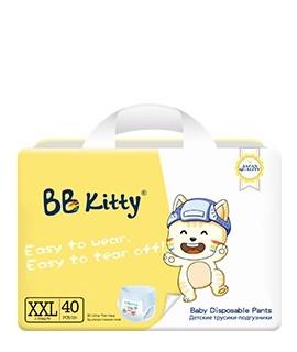 Трусики BB Kitty XXL (15+ кг)  40 штук