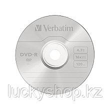 Диск DVD-R Verbatim (43523) 4.7GB 10штук Незаписанный