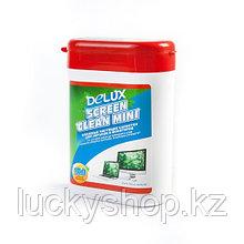 Чистящие салфетки Delux Screen Clean Mini 100