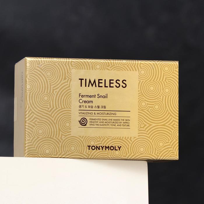 Антивозрастной крем для лица TONYMOLY Timeless с муцином улитки, 70 мл - фото 1