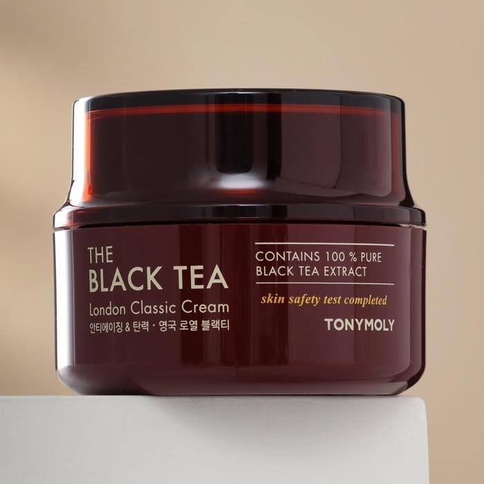 Антивозрастной крем для лица TONYMOLY с экстрактом английского чёрного чая, 50 мл - фото 2