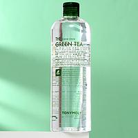 Мицеллярная вода TONYMOLY для снятия макияжа, с экстрактом зелёного чая, 500 мл