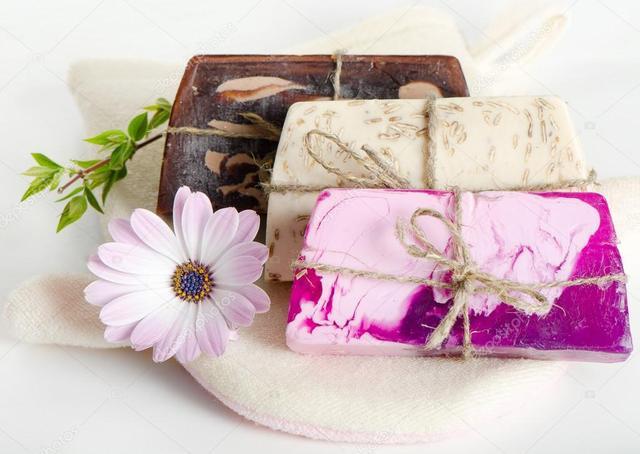 Декоративное натуральное мыло