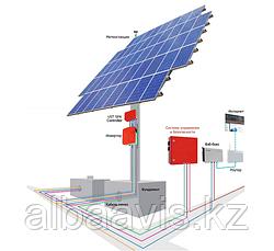 Солнечный трекер. устройство, позволяющее следить за движением солнца по небосводу.
