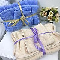 Набор полотенец 3в1  С ленточкой, фото 2