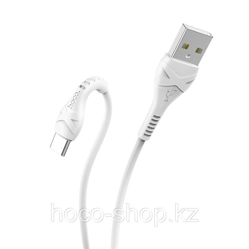 X37 Cool power charging data cable for Type-C White