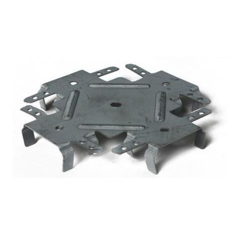 Соединение одноуровневое (Краб) KNAUF 0,8 мм 100 шт в пачке