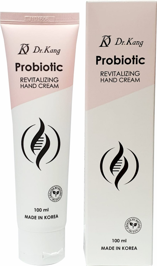 Dr.Kang Восстанавливающий крем для рук с пробиотиками Probiotic Revitalizing Hand Cream / 100 мл.