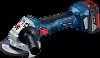 Аккумуляторная угловая шлифмашина (болгарка) GWS 180-LI Professional 06019H90R1