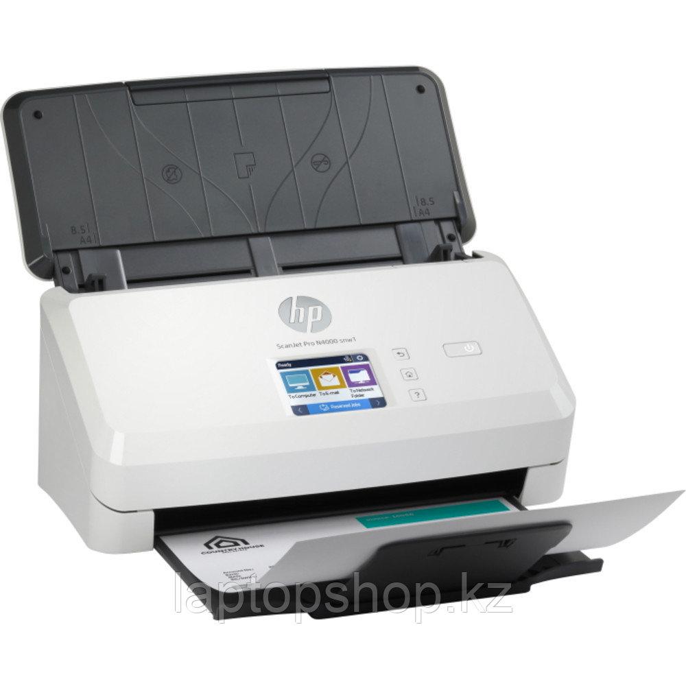 Сканер потоковый HP SJ Pro N4000 snw1, 6FW08A, A4