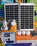 Солнечная система освещения, солнечная станция . Переносная солнечная станция. Туристическая солнечная станция, фото 2