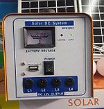 Солнечная система освещения, солнечная станция . Переносная солнечная станция. Туристическая солнечная станция, фото 3