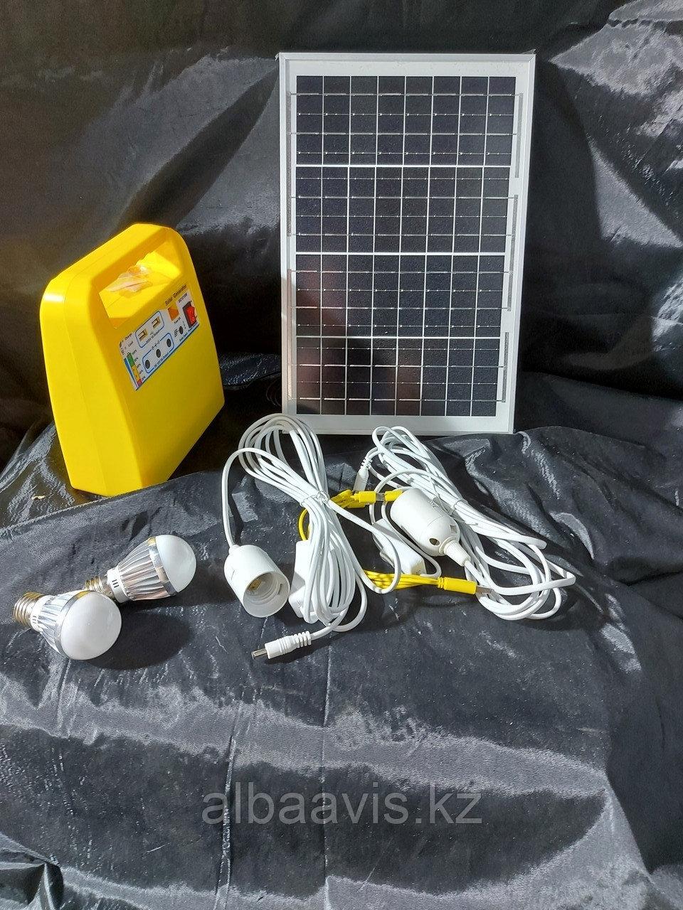 Солнечная система освещения, солнечная станция SG12. Портативные, переносные солнечные станции
