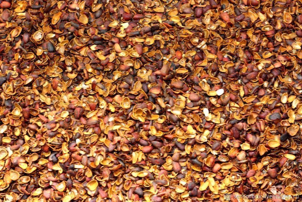 Кольматант - скорлупа кедрового ореха.