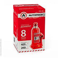 Домкрат гидравлический бутылочный 8 тонн 1/4