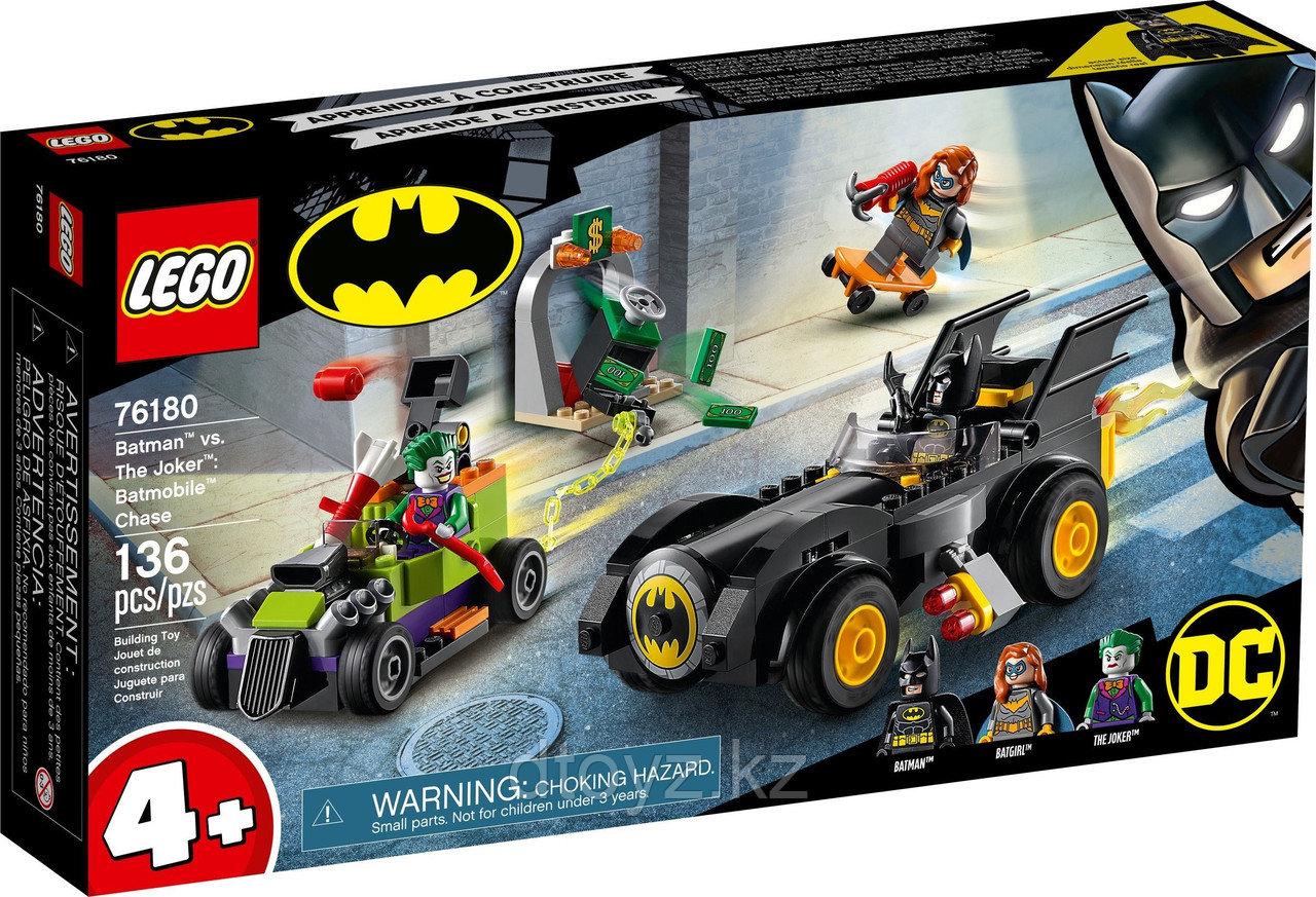 LEGO DC Super Heroes Бэтмен против Джокера погоня на Бэтмобиле 76180