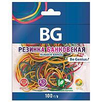 Банковская резинка BG 100гр 60мм в пакете - Цветная