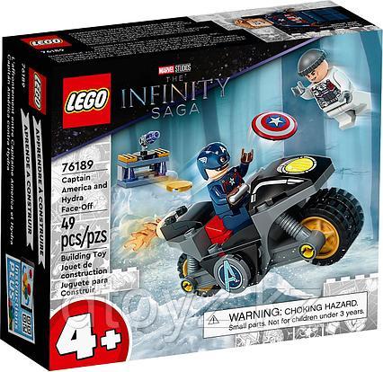 LEGO Marvel Super Heroes Битва Капитана Америка с Гидрой 76189