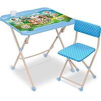 """Складной комплект детской мебели """"Кто чей малыш?"""