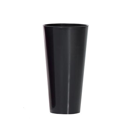Горшок с внутренней вставкой Tubus Slim Shine глянец DTUS 200S | Prosperplast(Польша) - фото 1