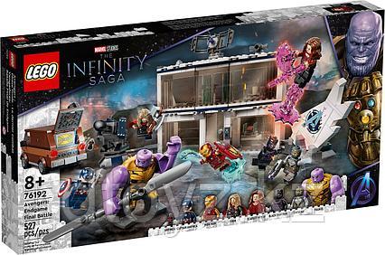 LEGO Marvel Super Heroes «Мстители: Финал» — решающая битва 76192