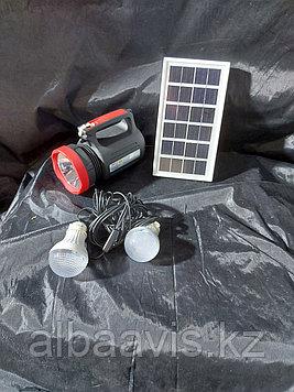 Фонарь с подзарядкой от солнечной батареи, сети 220В   Портативные, переносные солнечные фонари