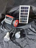 Фонарь с подзарядкой от солнечной батареи, сети 220В   Портативные, переносные солнечные фонари, фото 4