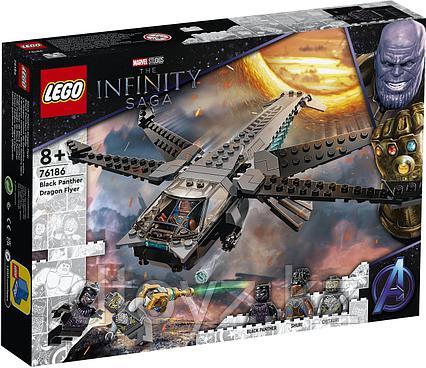 LEGO Marvel Super Heroes Корабль Чёрной Пантеры «Дракон» 76186