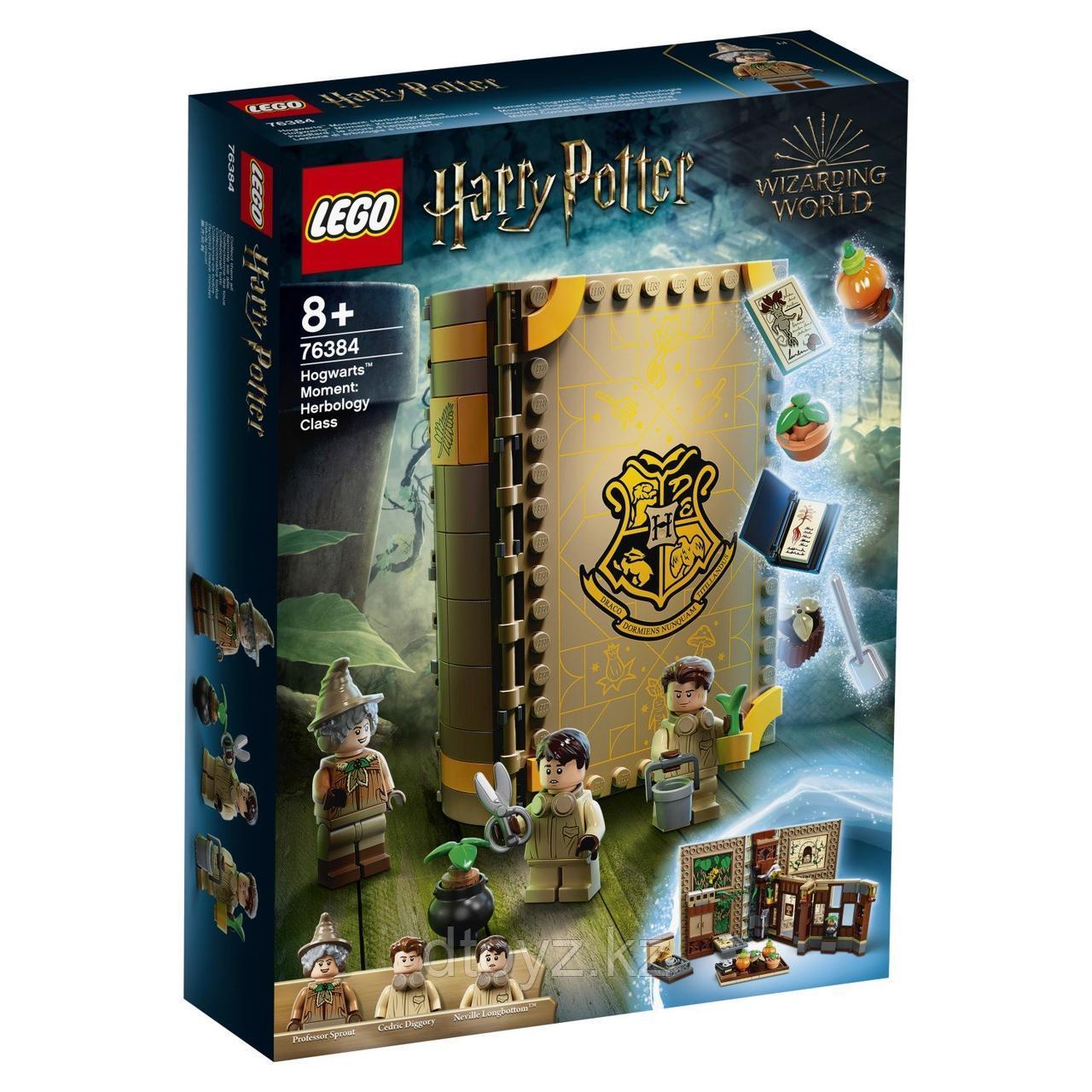 Lego Harry Potter Учёба в Хогвартсе Урок травологии 76384
