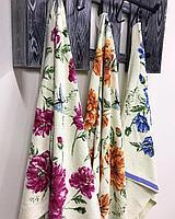 Полотенце банные Цветочек