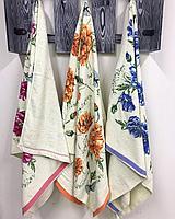 Полотенце банные  Цветочек, фото 2