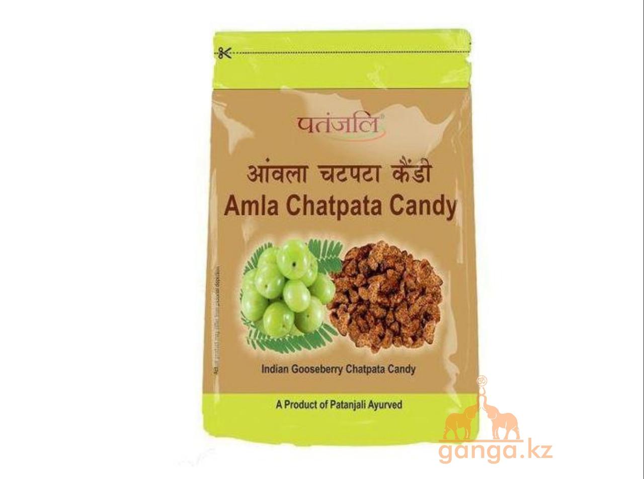 Амла Засахаренная со специями (Amla Chatpata Candy PATANJALI), 250 г.