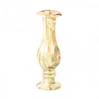 Декоративная ваза камень оникс круглая 10х30 см (4х12)