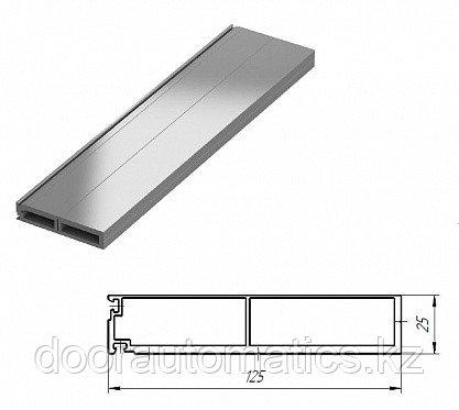 Профиль алюминиевый наличник 125мм для встроенного монтажа