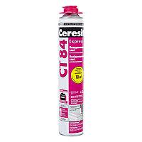 Ceresit CT 84 Полиуретановый экспресс-клей для пенополистирола, 850 мл