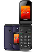 Мобильный телефон Texet TM-B202 синий