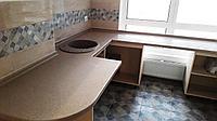 Столешницы для кухни и ванной комнаты. Долговечный материал и индивидуальный дизайн., фото 1