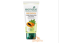 Гель для умывания Био Папайя Биотик (Bio Papaya Visibly Flawless Skin Face Wash BIOTIQUE), 100 мл