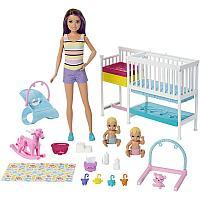 Набор игровой Barbie Скиппер и малыши