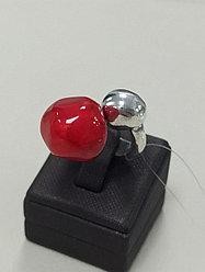 Кольцо / B&G / красный / 18 размер / ЕВ60
