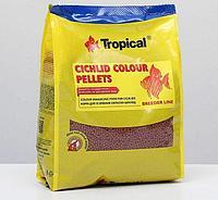 Корм для рыб Tropical Cichlid Colour Pellets